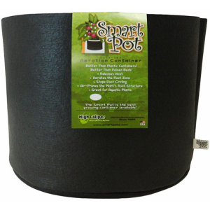 Smart Pot # 15 avec poignées Jardinière intelligente noir