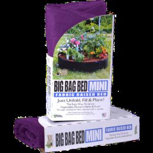 Smart Pots Big Bag Bed Mini Jardinière surélevée en tissu  – Mauve