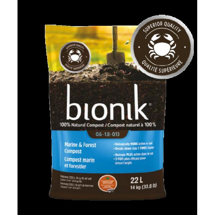 Bionik Compost Marin et Forestier (22litres)