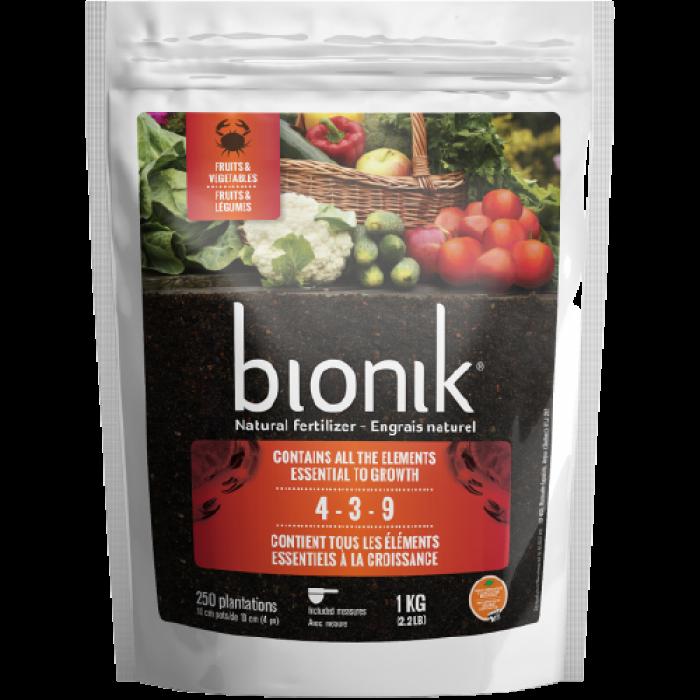 Engrais / Bionik Fruits & Légumes / Fleurs-Annuelles & Vivaces (1kg)