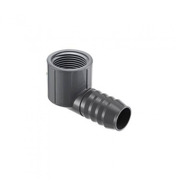 Lasco / Dura  InsertIions coude combiné 90 Insert ¾ x FPT ¾ / Insert Combination Elbow 90 Insert x FPT