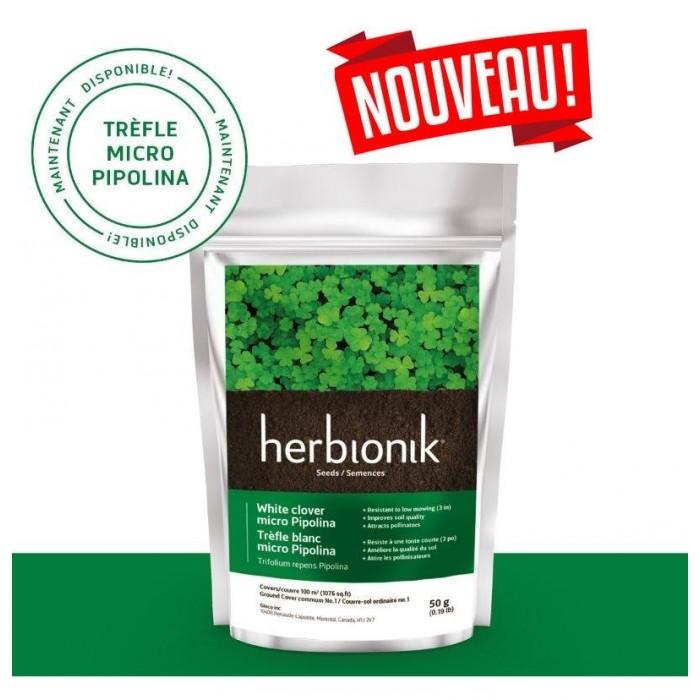 Semence Herbionik Trèfle micropipolina 500G (NOUVEAU)