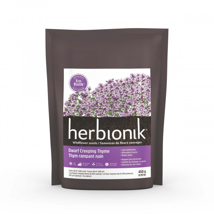 Semence Gloco Herbionik Eco-Rustik Thym rampant nain (450g)