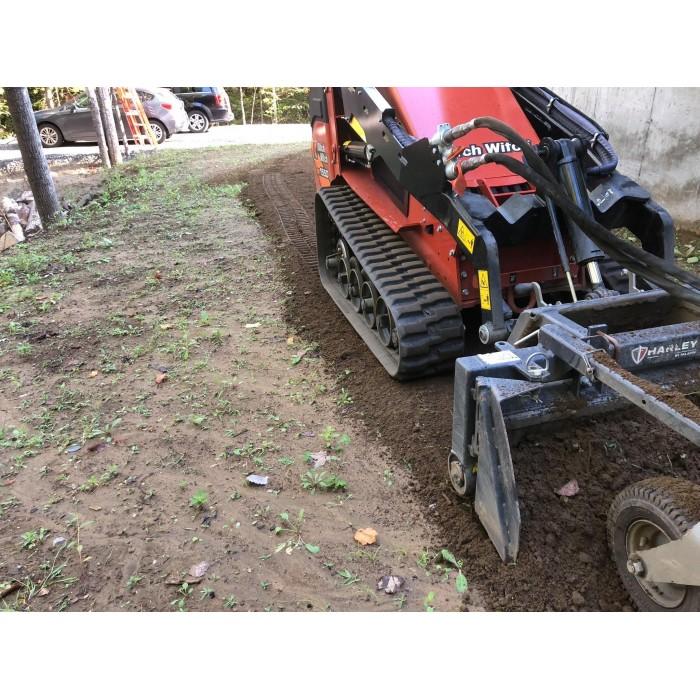 Préparation terrain & pose de terre