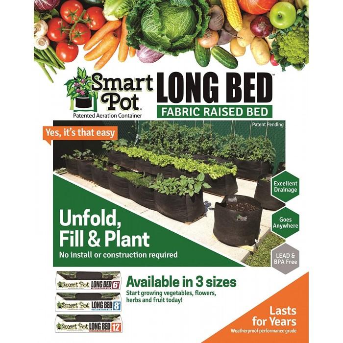 Big Bag Long Bed 6' Jardin Rectangulaire