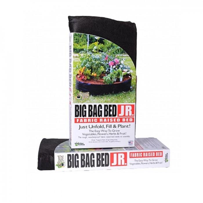 BIG BAG BED JUNIOR Jardin instantané JUNIOR – Noir